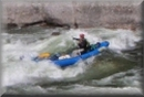 Tom Taylor running Bailey's Rapid on the Main Salmon River, Idaho