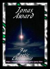 Jonas Award for Poetic Excellence