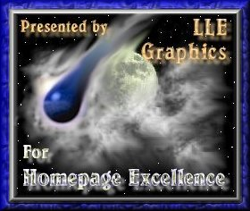 LLE Graphics Award for Homepage Excellence