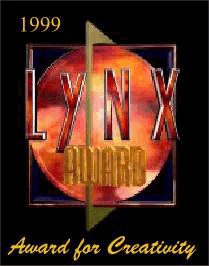 1999 Lynx Award for Creativity