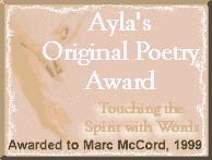 Ayla's Original Poetry Award