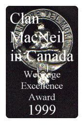 Clan MacNeil Award for Web Site Excellence