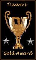 Daan's Gold Award