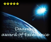 Daan's Award of Excellence