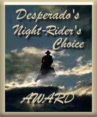 Desperado Night Rider Award