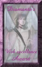 Diamante's Web Excellence Award