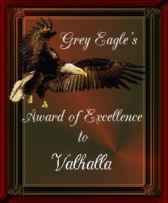 Grey Eagle's Award of Excellence