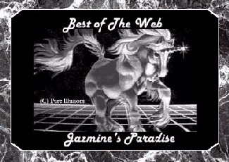 Jazmine's Paradise Best of the Web Award
