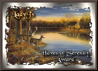 LadyJ's Haven of Serenity Award