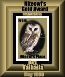 Nightowl's Gold Award