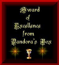 Award of Excellence from Pandora's Box