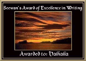 Seewan's Award of Excellence in Writing