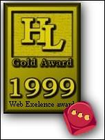 HyperLinks Webmasters Award Of Excellence