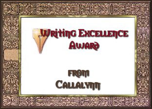Writing Excellence Award