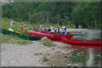 BSA Troop 1, Guadalupe River, Texas, 2003