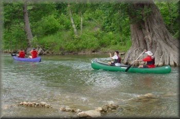 BSA Troop 209, Guadalupe River, Texas, 2002