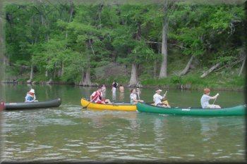 BSA Troop 696, Guadalupe River, Texas, 2002