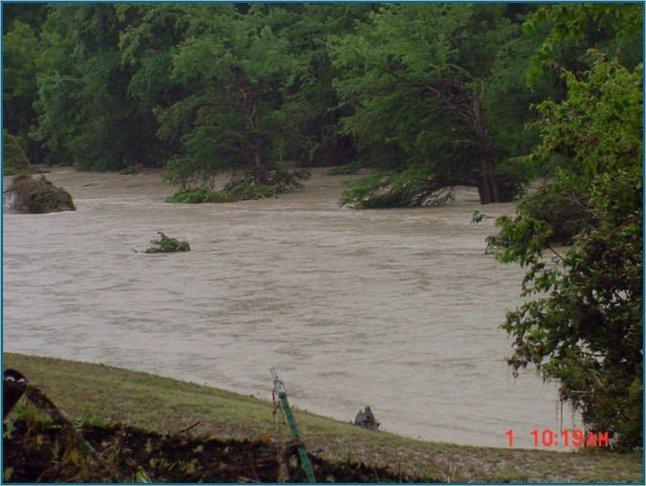 Guadalupe River at FM 3351 near Bergheim
