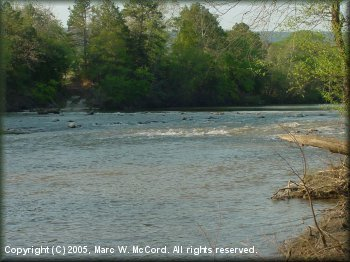 The Kiamichi River below Clayton, Oklahoma, 2005