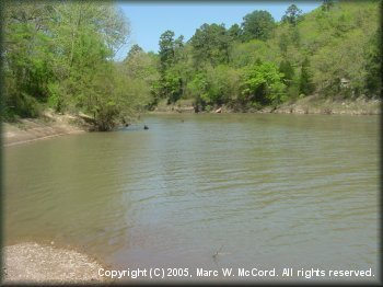 Springtime on the Kiamichi River