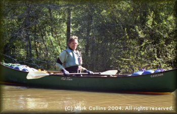 Marc McCord on Village Creek, Thanksgiving, 2004