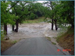 Rebecca Creek Crossing on June 30, 2002