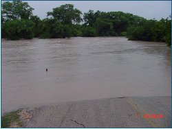 Rebecca Creek Crossing from US 281 side