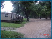 River Valley Resort Campground under water