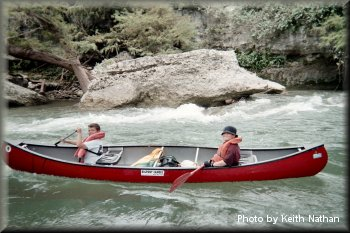 BSA Troop 15, Guadalupe River, Texas, 2004