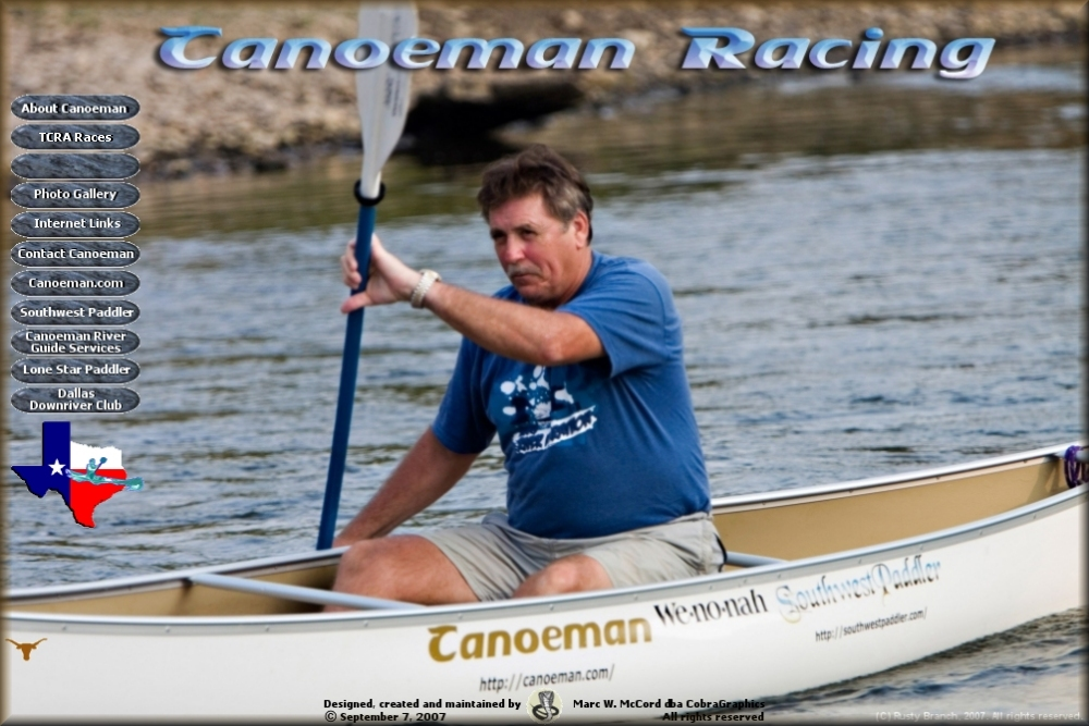 Welcome to Canoeman Racing