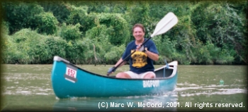 Marc McCord in the 2001 Trinity River Challenge