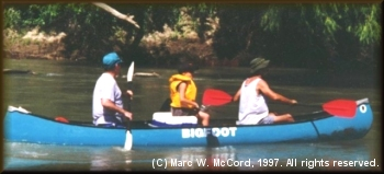 Team McCord in the 1997 Come and Take It Race